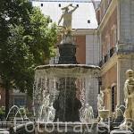 Fuente de Hércules e Hidra. Jardin de la Isla. Palacio de ARANJUEZ. Comunidad de Madrid. España. Spain
