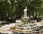 Fuente de Apolo en el jardin de la Isla. ARANJUEZ. Comunidad de Madrid. España Spain