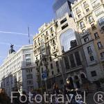 La Gran Via. Madrid. Comunidad de Madrid. España