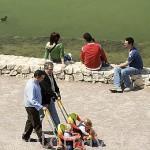 Paseando por el parque de Cabecera. VALENCIA. España