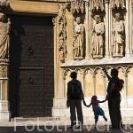 Fachada de la Catedral, S.XII- XIV. TARRAGONA. Ciudad Patrimonio de la UNESCO. España