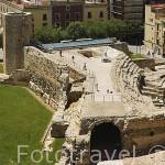 El Pretorio Romano, s.I d.C. TARRAGONA. Ciudad Patrimonio de la UNESCO. España