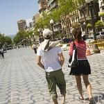 La Rambla Vella. TARRAGONA. Ciudad Patrimonio de la UNESCO. España