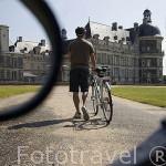 Castillo palacio de Serrant. Cerca de ANCENIS. Región de Pays de Loire. Francia. France