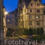 Casa de Adam del s.XVI. Población de ANGERS. Región de Pays de Loire. Francia. France