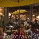 Bar Dockyard Irish Pub en el hangar a bananes. Ciudad de NANTES. Región Pays de la Loire. FRANCIA. France