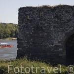 Molino junto al rio Loira. Cerca del pueblo de OUDON. Valle del Loira. Francia - France