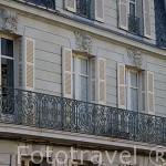 Fachada de edificio. Población de ANCENIS. Valle del Loira. Francia