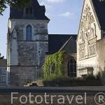 Iglesia de Saint Pierre. Población de ANCENIS. Valle del Loira. Francia