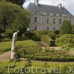 Bodega y viñedos del Domaine aux Moines. Comunidad de Savennieres. Región de Pays de Loire. Francia. France