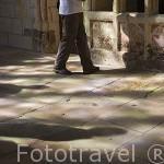 Interior del Oratorio Señorial del castillo del s.XIII. Residencia de los duques de Anjou en el s.XIV- XV. Ciudad de ANGERS. Región de Pays de Loire. Francia. France