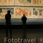 Tapiz del Apocalipsis, originales del s.XII. Interior del castillo del s.XIII. Residencia de los duques de Anjou en el s.XIV- XV. Ciudad de ANGERS. Región de Pays de Loire. Francia. France