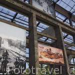 Hangar de Las Maquinas de la Isla y fotos artisticas. Ciudad de NANTES. Región Pays de la Loire. FRANCIA. France