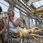 """Maquina El Calamar. Taller de """"Les Machines d´Ile"""". Ciudad de NANTES. Región Pays de la Loire. FRANCIA. France"""