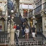 """Galerias comerciales """"Passage Pommeraye"""". Ciudad de NANTES. Región Pays de la Loire. FRANCIA. France"""