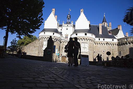 Castillo de los Duques de Bretaña. Finales s.XV. Ciudad de NANTES. Región Pays de la Loire. FRANCIA. France