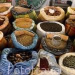 Mercado de especias. POINTE A PITRE. Isla de Guadalupe. Caribe. Francia