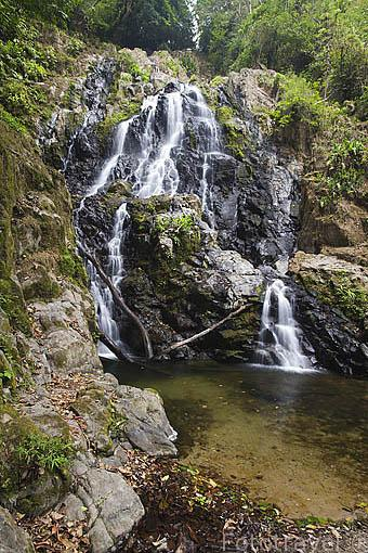Cascada Chorro del Macho, Valle de Anton. PANAMA. Centroamerica
