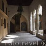 Interior del Palacio Episcopal. CUENCA. Ciudad Patrimonio de la Humanidad. Castilla La Mancha. España