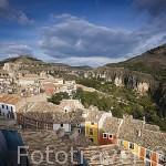Vista de la ciudad de CUENCA. Ciudad Patrimonio de la Humanidad. Castilla La Mancha. España