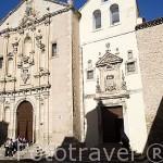 La plaza de la Merced. CUENCA. Ciudad Patrimonio de la Humanidad. Castilla La Mancha. España