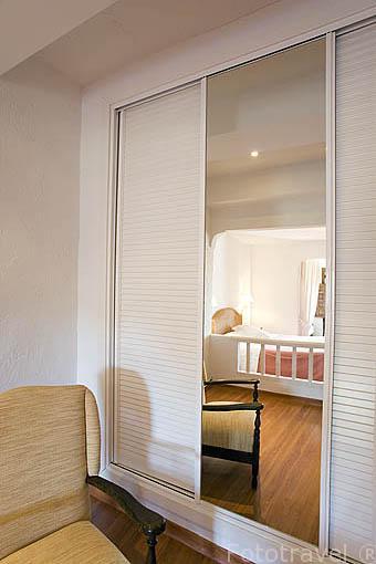 Habitación. Hotel La Posada de San Jose en la calle Julian Romero 4. . CUENCA. Ciudad Patrimonio de la Humanidad. Castilla La Mancha. España