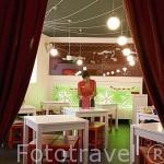 Restaurante Tascazoco en la calle Clavel 7. Casco historico. CUENCA. Ciudad Patrimonio de la Humanidad. Castilla La Mancha. España