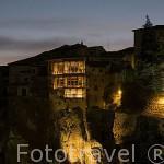 Casas Colgadas. CUENCA. Ciudad Patrimonio de la Humanidad. Castilla La Mancha. España