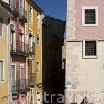 Calle Severo Catalina y edificios junto a la Plaza Mayor. CUENCA. Ciudad Patrimonio de la Humanidad. Castilla La Mancha. España