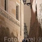 Calle del Fuero junto al Museo de Ciencias. CUENCA. Ciudad Patrimonio de la Humanidad. Castilla La Mancha. España