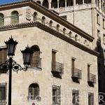 Palacio y sala de exposiciones de Garcigrande junto a la plaza de los Bandos. SALAMANCA. Ciudad Patrimonio de la Humanidad, UNESCO. Castilla y León. España