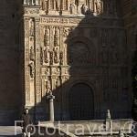 Fachada del convento e iglesia de San Esteban, padres Dominicos. Estilo Renacentista. SALAMANCA. Ciudad Patrimonio de la Humanidad, UNESCO. Castilla y León. España