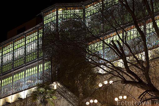 Fachada del museo Casa Lis. Art Nouveau y Art Decó. SALAMANCA. Ciudad Patrimonio de la Humanidad, UNESCO. Castilla y León. España