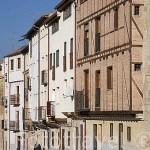 Ribera del Puente y casas. SALAMANCA. Ciudad Patrimonio de la Humanidad, UNESCO. Castilla y León. España