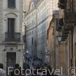 Calle de la Compañia. SALAMANCA. Ciudad Patrimonio de la Humanidad, UNESCO. Castilla y León. España