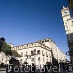 Plaza de los Bandos. SALAMANCA. Ciudad Patrimonio de la Humanidad, UNESCO. Castilla y León. España