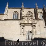 Fachada de la iglesia Sancti Spiritus. SALAMANCA. Ciudad Patrimonio de la Humanidad, UNESCO. Castilla y León. España