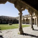 Patio interior de la Escuelas Menores. SALAMANCA. Ciudad Patrimonio de la Humanidad, UNESCO. Castilla y León. España