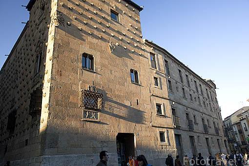 La Casa de las Conchas. SALAMANCA. Ciudad Patrimonio de la Humanidad, UNESCO. Castilla y León. España