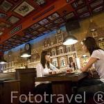 Bar restaurante cafe Erasmus, en la calle Melendez 7. SALAMANCA. Ciudad Patrimonio de la Humanidad, UNESCO. Castilla y León. España
