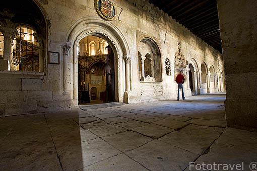 Capilla de Talavera, fundada por Rodrigo Arias Maldonado, finales s.XV-XVI. Claustro de la catedral Vieja. SALAMANCA. Ciudad Patrimonio de la Humanidad, UNESCO. Castilla y León. España