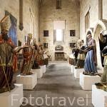 Capilla de Santa Catalina,s.XII, aqui fueron absueltos los Templarios en el 1316.Claustro de la catedral Vieja. SALAMANCA.Ciudad Patrimonio de la Humanidad UNESCO.Castilla León. España