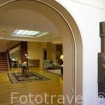 Salón. Hotel Rector. En Paseo Rector Esperabé 10. SALAMANCA. Ciudad Patrimonio de la Humanidad, UNESCO. Castilla y León. España