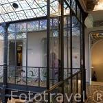 Casa Lis, museo con piezas Art Nouveau y Art Decó. SALAMANCA. Ciudad Patrimonio de la Humanidad, UNESCO. Castilla y León. España