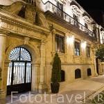 Fachada del hotel Rector. En Paseo Rector Esperabé 10. SALAMANCA. Ciudad Patrimonio de la Humanidad, UNESCO. Castilla y León. España