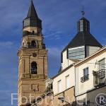 Iglesia parroquial de San Miguel Arcangel. Población de PEÑARANDA DE BRACAMONTE. Comarca de La Armuña. Provincia de Salamanca. España. Spain