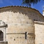Iglesia romanica, s.XII en ALMENARA DE TORMES. Comarca de la Armuña. Provincia de Salamanca. España. Spain