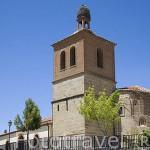 Iglesia con abside mudejar en ALDEALENGUA. Comarca de La Armuña. Provincia de Salamanca. España. Spain
