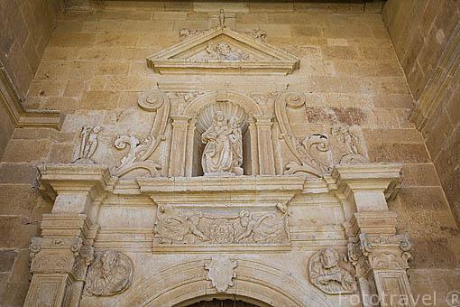 Iglesia de San Esteban. Población de CASTELLANOS DE MORISCOS. Comarca de La Armuña. Provincia de Salamanca. España. Spain