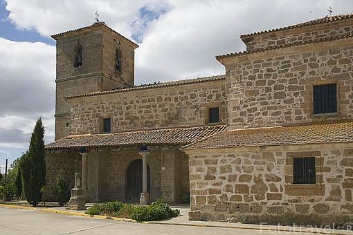 Iglesia de NEGRILLA DE PALENCIA. Comarca de La Armuña. Provincia de Salamanca. España. Spain